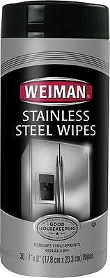 Weiman® Stainless Steel Wipes, 7