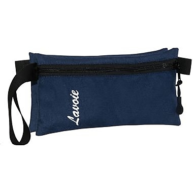 Lavoie Double Pencil Case, Navy