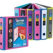 """Staples® Better Binder, Pocket Binder, 1.5"""", Assorted"""