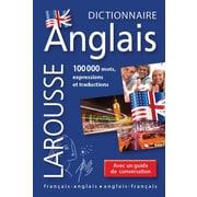 French Reference Book - Larousse Mini Francais-Anglais