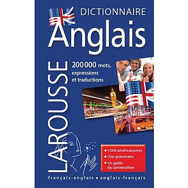 French Reference Book - Larousse Dictionnaire De Poche Francais-Anglais