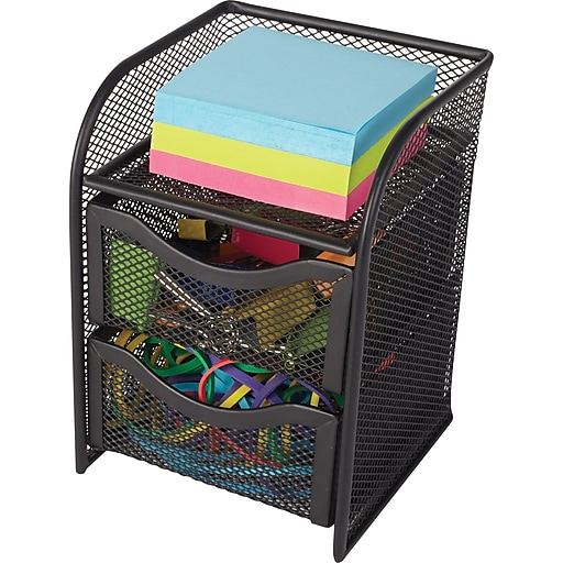 S Staples 3p Com S7 Is Images For Wire Mesh Desktop Organizer Black 7 H