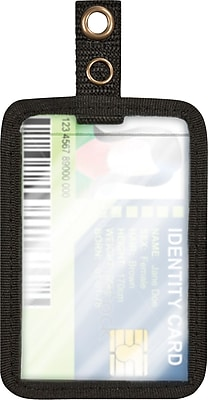 Cosco® MyID™ Black ID Badge Holder for Key Cards and ID Cards, 4