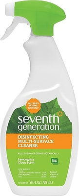 Seventh Generation™ Botanical Disinfecting Multi-Surface Cleaner, 26 oz. Spray Bottle (22810)