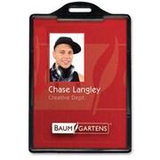 BaumgartensMD – Porte-carte pour carte d'identité, vertical, noir, 25/paquet