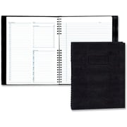 "Blueline® NotePro Daily Planner, 11"" x 8-1/2"", Black, 200 Page"