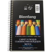 "Bienfang® Sketch Book, 5-1/2"" x 8-1/2"", 100 Sheets"