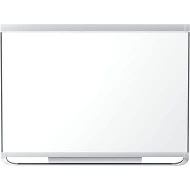 Quartet® – Tableau aimanté en porcelaine à effacement sec Prestige 2®, cadre en aluminium, 48 po x 36 po
