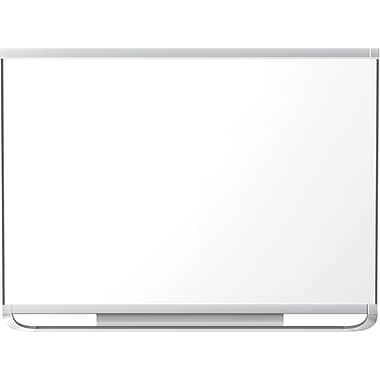 Quartet® – Tableau aimanté Prestige® 2 Total Erase®, cadre en aluminium, 48 po x 36 po