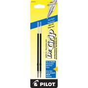 Pilot Dr. Grip Ball Point Retractable Refill, Fine Point, Blue, 2/Pack (77211)