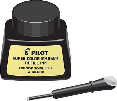 Pilot Super Color Permanent Marker Refill, Black (PIL43500) 810639
