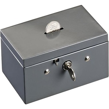 SteelMaster® Cash Box with Coin Slot, Small