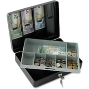 SentrySafe Deluxe Locking Cash Box, 7-Slot