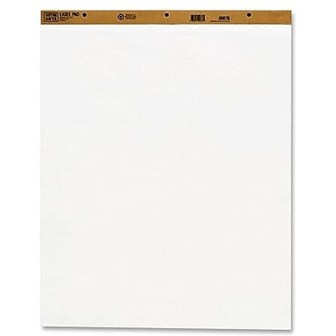 Naturesaver® Recycled Plain Easel Pad, 100 Sheets/Carton