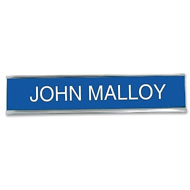 Trodat DIY Desk/Wall Sign Name Plate, 2