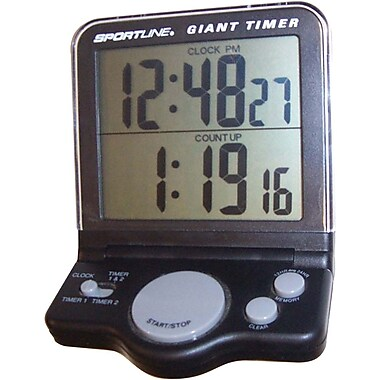AmpliVox – Horloge et minuterie