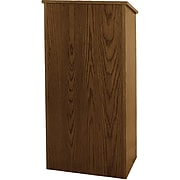 AmpliVox Sound Systems Floor Lectern, Walnut (W280-WT)