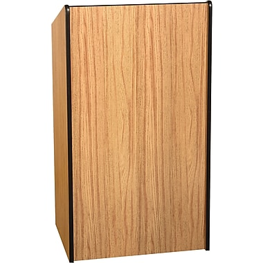Amplivox Presidential Plus Lectern Without Sound, Medium Oak