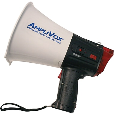 Amplivox Safety Strobe Megaphone