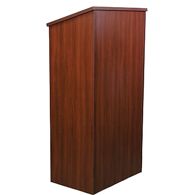 Amplivox Full Height Wood Lectern