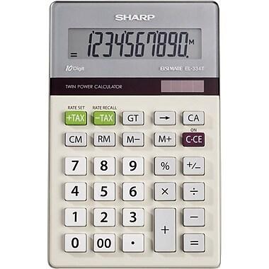 Sharp® EL-334TB 10-Digit Display Calculator
