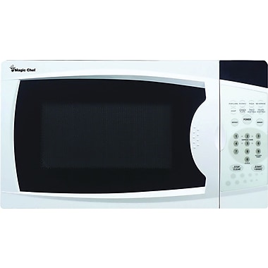 Magic Chef 0.7 Cubic ft Microwave Oven, White (MCPMCM770W)