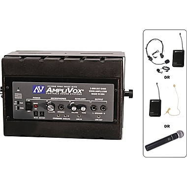 Amplivox Mity Box 50-watt Amplified Speaker With Wired Mic