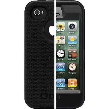 Otterbox Defender Cases for iPhone 4s, Black