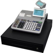 Casio PCR-T2400L Cash Register, Double Printer