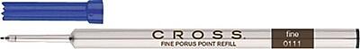 Cross Fine Porous Point Refill For Cross Selectip Pens, Each, Blue