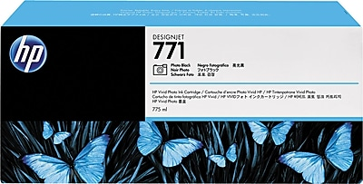 HP 771A 775-ml Photo Black Designjet Ink Cartridge (B6Y21A)