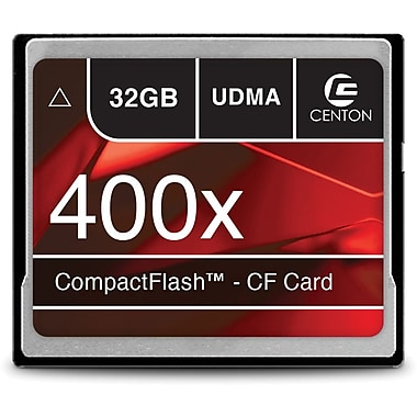 Centon 32GB 400X CompactFlash Memory Card
