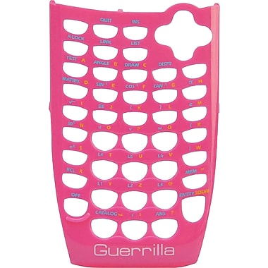 Guerrilla Face Plate for TI-84SE Pink Graphing Calculator