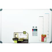 Quartet® Magnetic Dry-Erase Board, Euro Style Aluminum Frame, 3'W x 2'H (79378)