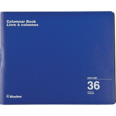 Blueline® Columnar Book, 36 columns, 80 Pages, 12