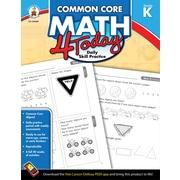 Carson-Dellosa™ Common Core Math 4 Today Workbook, Grade K
