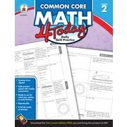 Carson-Dellosa™ Common Core Math 4 Today Workbook, Grade 2