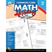 Carson-Dellosa™ Common Core Math 4 Today Workbook, Grade 3