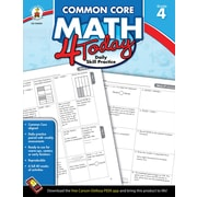 Carson-Dellosa™ Common Core Math 4 Today Workbook, Grade 4