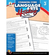 Carson-Dellosa™ Common Core Language Arts 4 Today Workbook, Grade 3