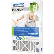 "Duststop, MERV 8 Air Filter, 4"", 3 Filters/Case"