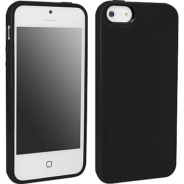 Staples TPU Shell for Use with Apple iPhone 5/5S, Black (40409SPR)