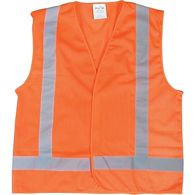 CSA-Compliant Orange Traffic Vest, 2XL