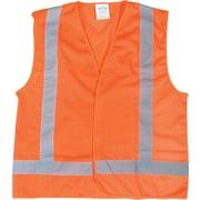 CSA-Compliant Orange Traffic Vest, 6/Pack