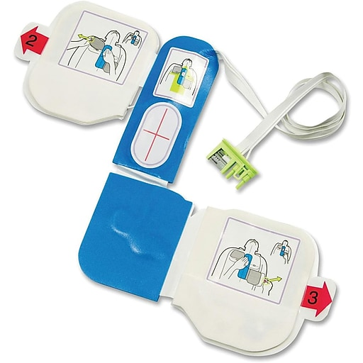 ZOLL® CPR-D-Padz Single-Use Electrodes with 5-Year Shelf Life for Adults (8900080001)