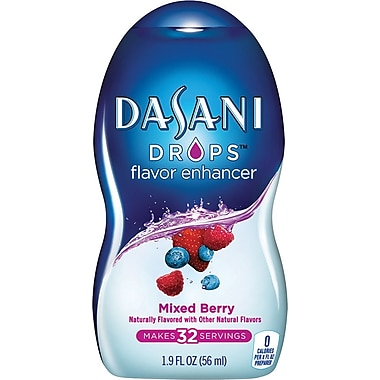 Dasani® Drops, Mixed Berry, 1.9 oz., 6/pack