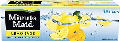 Minute Maid® Lemonade, 12 oz. Cans, 24/Pack