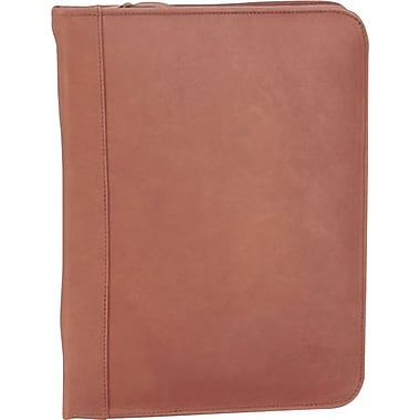 Bugatti Tennyson Leather Padfolio, Cognac