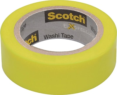 Scotch® Expressions Washi Tape 3/5