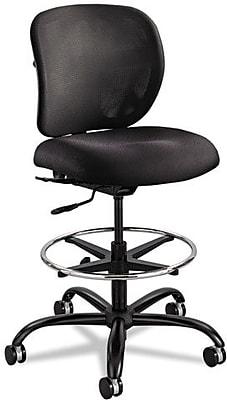 Safco® Vue™ Heavy Duty Stool, Nylon, Black (3394BL)